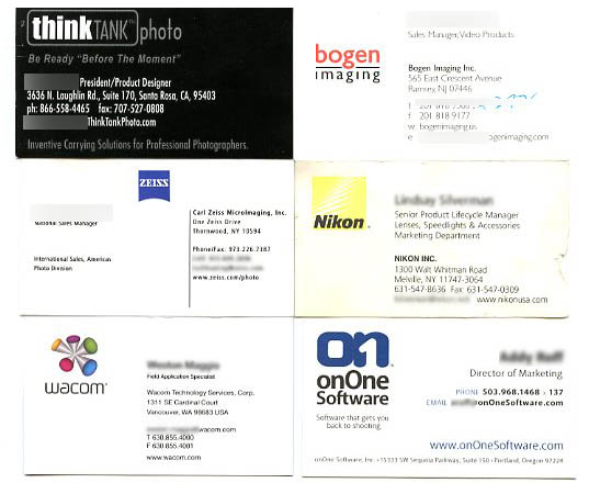 Collect Business Cards