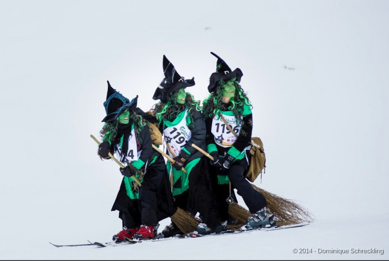 Belalp Witch Ski Racing Event -Switzerland