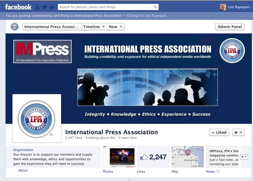 IPA FB Page