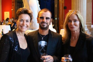 Celina with Ringo Starr and his wife Barbara Bach