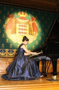 Pianist and Painter Chau-Gian Thi Nguyen