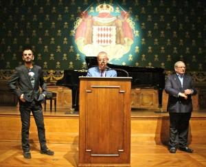 Ringo, Ambassador Moret & Roger Shine