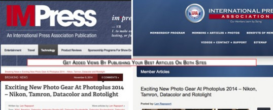 Publish Your Articles on IPA & IMPress The Easy Way