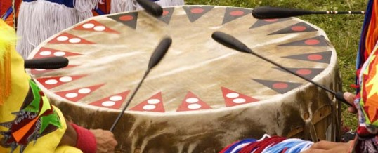 The Magical Experience at an Intertribal Indian Pow Wow