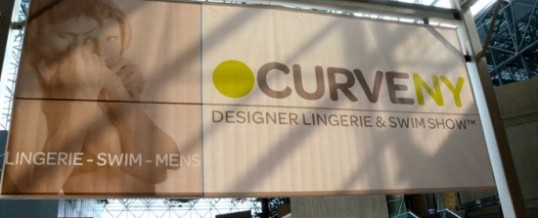 Curve NY 2012 Designer Lingerie & Swim Show With Video