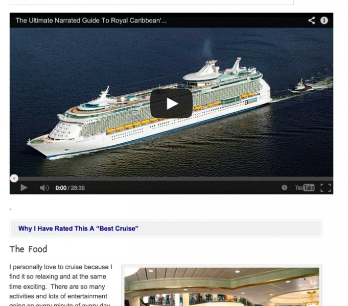 My Video On This Cruise Has 150,000 Views
