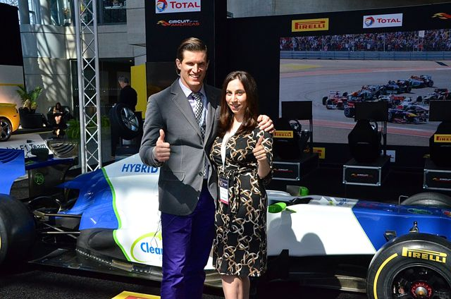 IPA Correspondents Andy Peeke and Josette Dambrosi at NY Auto Show 2014