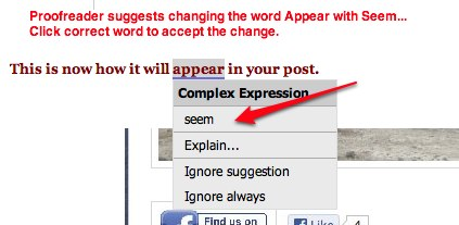 Change-Proofreader