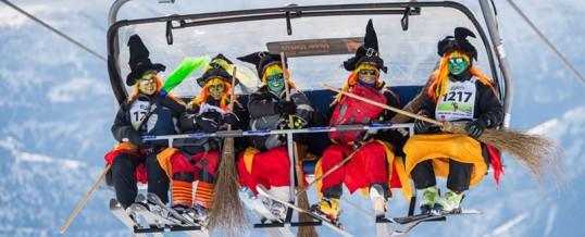 Belalp Witch Ski Racing