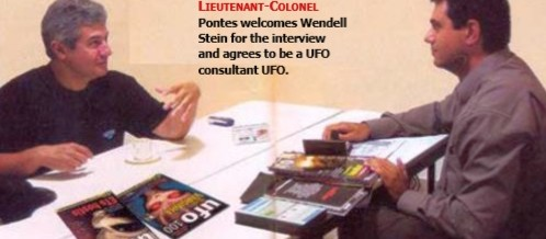 The first Brazilian astronaut accepts to be a consultant of UFO Magazine – Living Memory