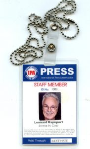 Join Us Now Receive Your Press ID Kit