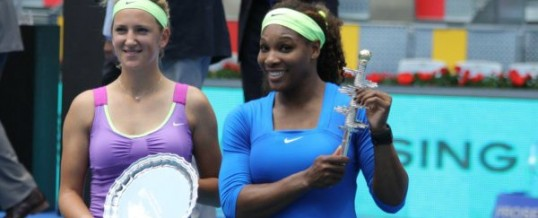 Serena Williams is Champion at the Madrid Open Masters