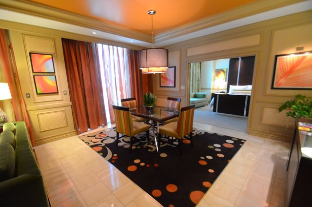My Upgraded Suite At The Mirage Hotel.Not Bad For $150/Night. Click to Enlarge